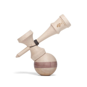 Heartwood Kendama Nature Series - Purple Heart side