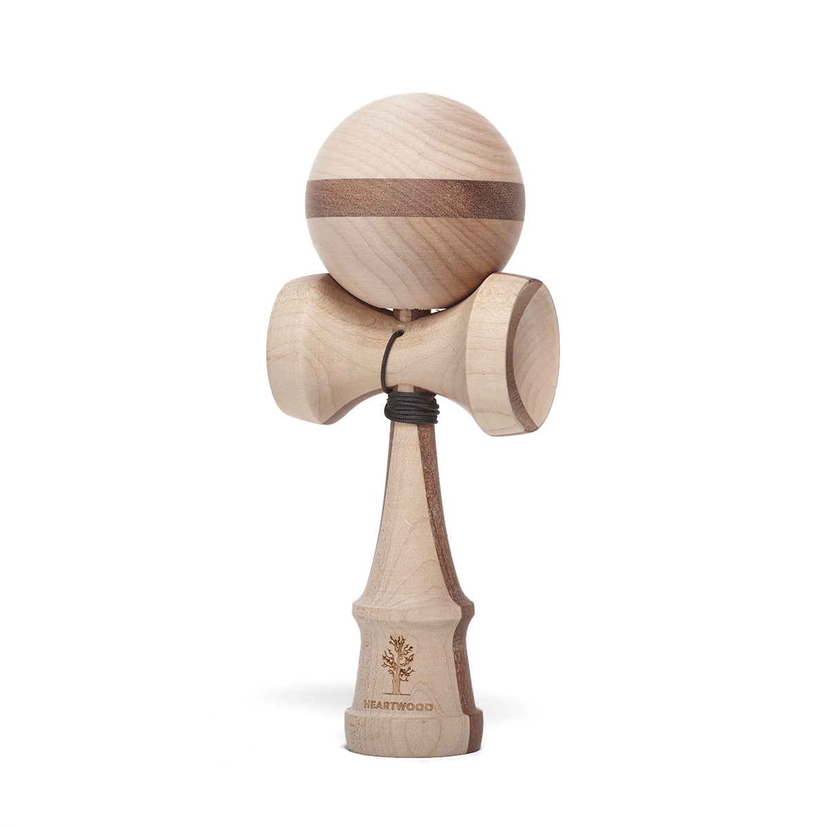 Heartwood Kendama Nature series - Two Face Walnut