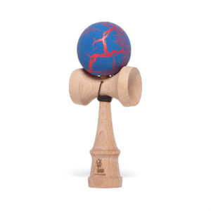 Heartwood Kendama Grunge Cherry Blue