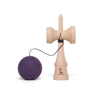 Heartwood Kendama Grunge Purple Dark side