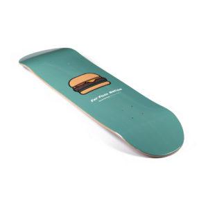 """Heartwood Skateboards - Fat Food Nation 8.25"""" skateboard deck only"""