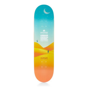 Heartwood Skateboards - Urban Design Series - Desertscape