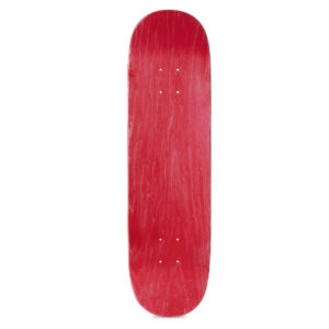 Heartwood Skateboards Artless series - red top