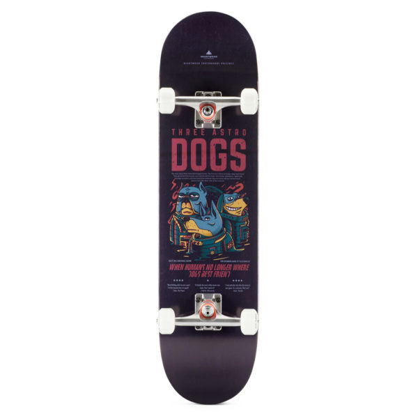 "Heartwood Skateboards - Astro Dogs 8.0"" complete"