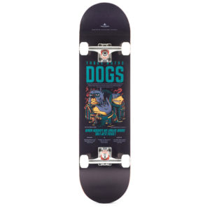 "Heartwood Skateboards - Astro Dogs 8.25"" complete"