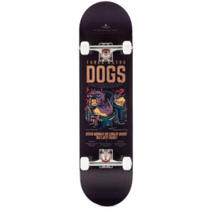 "Heartwood Skateboards - Astro Dogs 8.5"" complete"