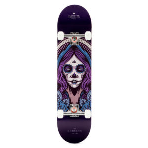 "Heartwood Skateboards - Goddess Akycha 7.75"" complete"