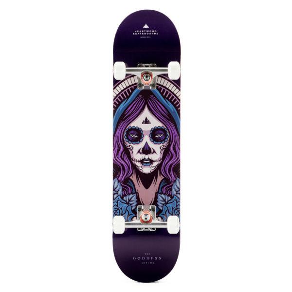 """Heartwood Skateboards - Goddess Akycha 7.75"""" complete"""
