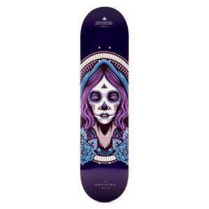 "Heartwood Skateboards - Goddess Akycha 7.75"" deck only"