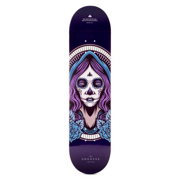 """Heartwood Skateboards - Goddess Akycha 7.75"""" deck only"""