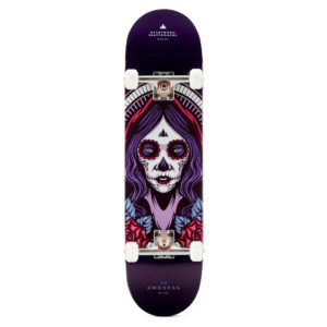 "Heartwood Skateboards - Goddess Beiwe 8.0"" complete"
