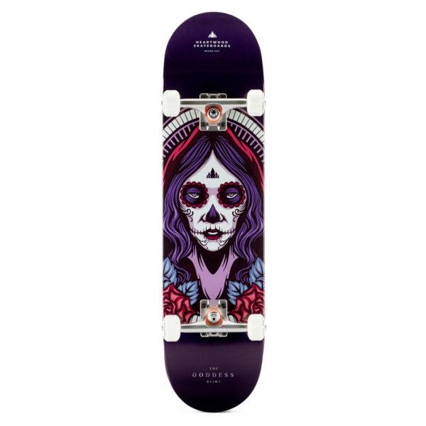 """Heartwood Skateboards - Goddess Beiwe 8.0"""" complete"""