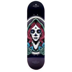"Heartwood Skateboards Goddess - Cerridwen 8.25"" deck"