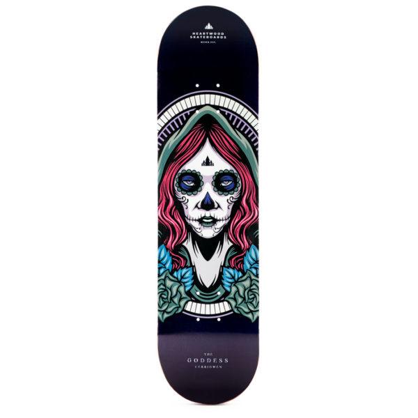 """Heartwood Skateboards Goddess - Cerridwen 8.25"""" deck"""