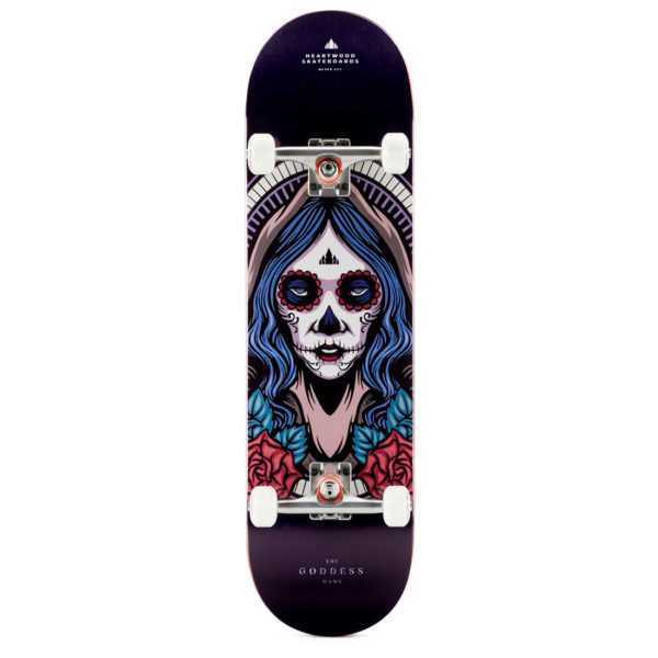 "Heartwood Skateboards Goddess - Danu 8.5"" complete"