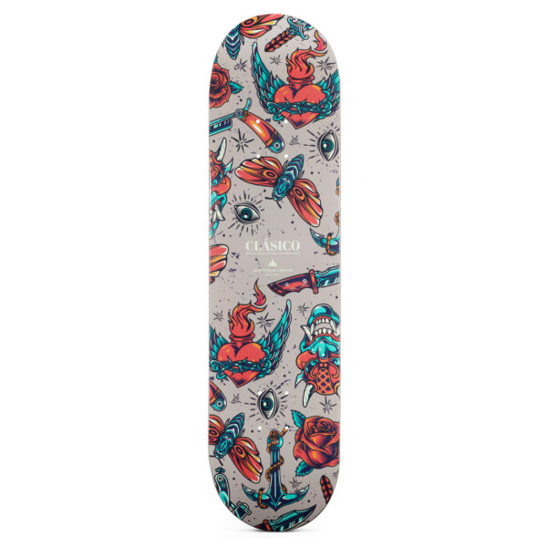 "Heartwood Skateboards - Clásico 8.0"" skateboard deck"