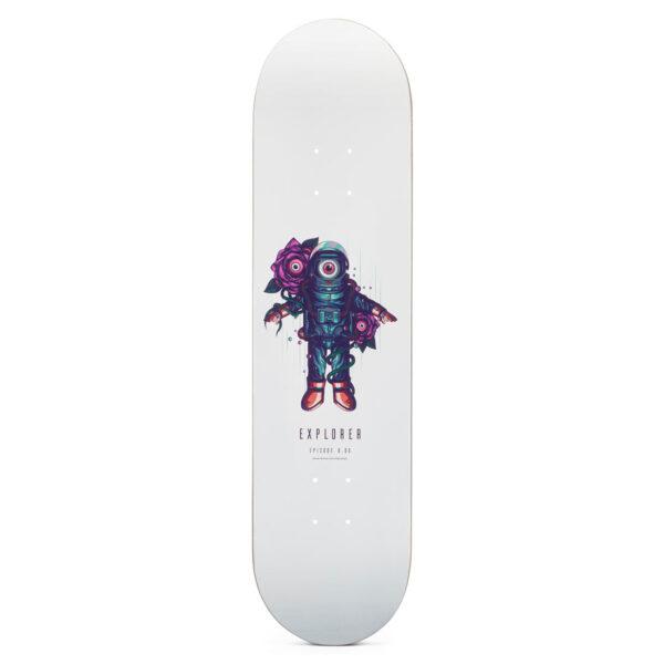 "Heartwood skateboards Explorer 8.0"" skateboard deck only"